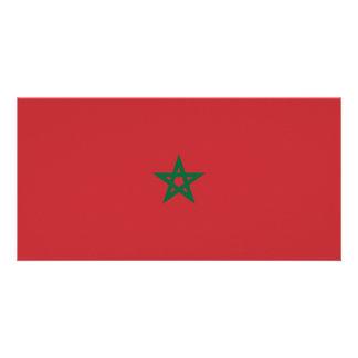 Cartão Bandeira de Marrocos