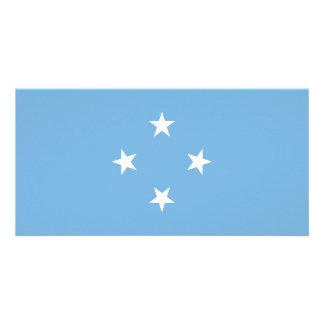 Cartão Bandeira de Micronesia