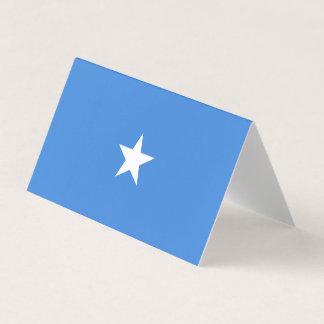 Cartão Bandeira de Somália