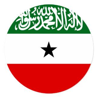 Cartão Bandeira de Somaliland