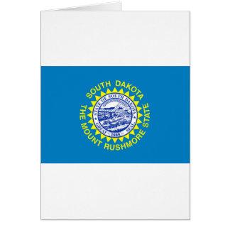 Cartão Bandeira de South Dakota