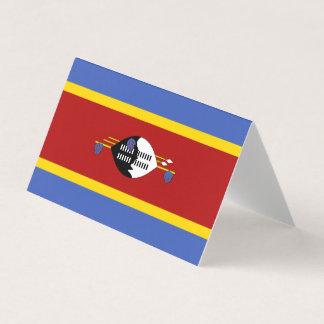 Cartão Bandeira de Suazilândia