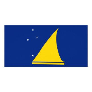 Cartão Bandeira de Tokelau