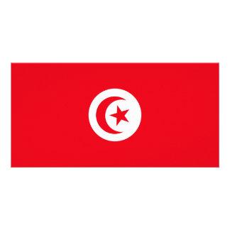 Cartão Bandeira de Tunísia