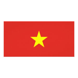 Cartão Bandeira de Vietnam