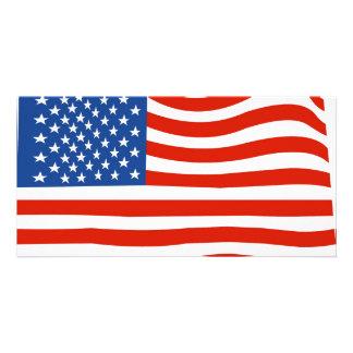 Cartão Bandeira dos EUA