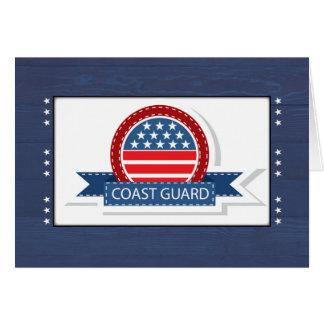 Cartão Bandeira e crachá patrióticos da graduação da