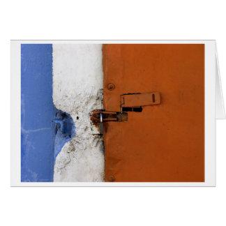 Cartão bandeira fechado