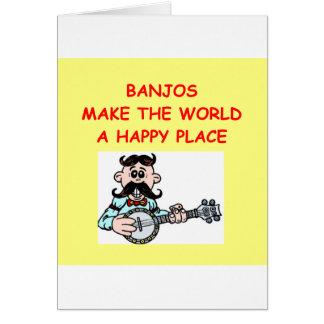 Cartão banjos