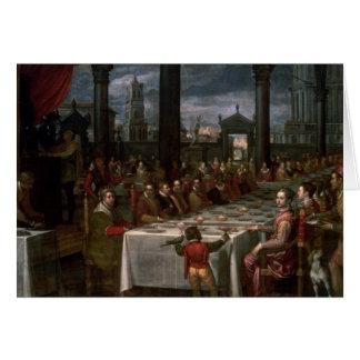 Cartão Banquete Wedding