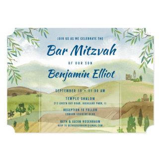 Cartão Bar Mitzvah Vista