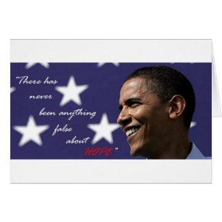 Cartão Barack Obama