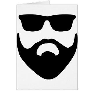 Cartão barba