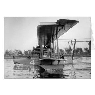Cartão Barco de vôo de Curtiss NC-4 do marinho, 1918