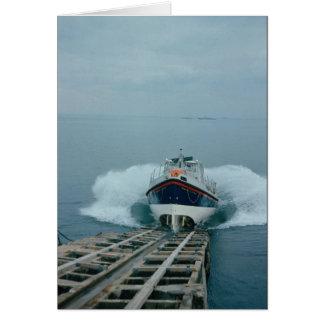 Cartão Barco salva-vidas, Inglaterra
