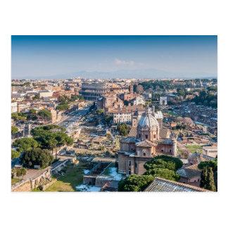 Cartão barroco & antigo de Roma