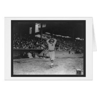 Cartão Basebol 1914 do atletismo da prancha do jarro