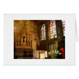 Cartão Basílica do sangue santamente