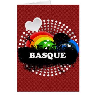 Cartão Basque frutado bonito