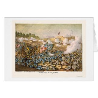 Cartão Batalha de Williamsburg por Kurz e por Allison