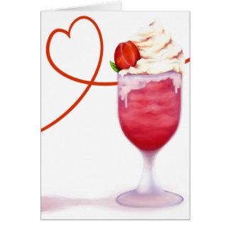 Cartão Batido dos namorados