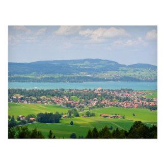 Cartão bávaro do campo
