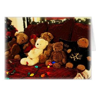 Cartão Beary, Feliz Natal!