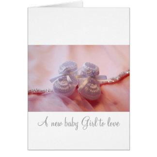 Cartão Bebé