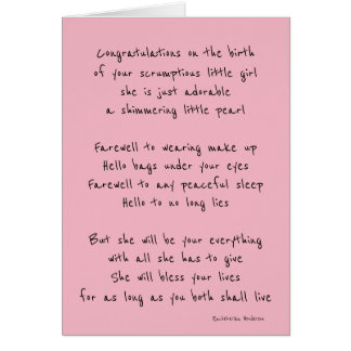 Cartão Bebé bem-vindo