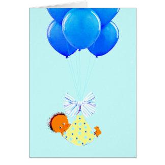 Cartão Bebé Congrats