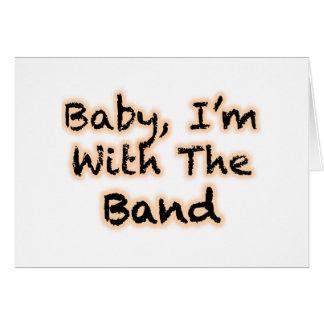 Cartão Bebê, eu sou com a banda