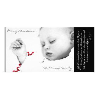Cartão Bebê Jesus