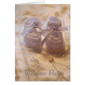 Cartão Bebê novo