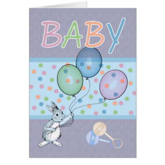 Cartão Bebê novo dos parabéns do bebé