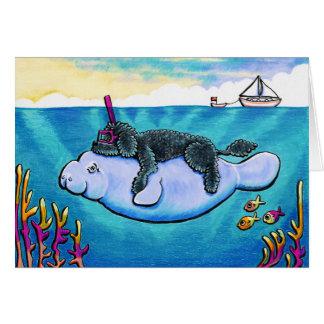 Cartão Bebês da água