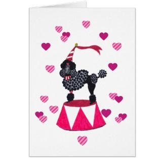 Cartão Beijos do francês dos anjos de Gulliver