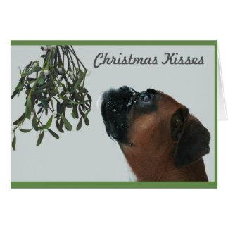 Cartão Beijos do Natal