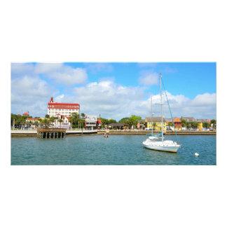 Cartão Beira-rio de St Augustine, Florida