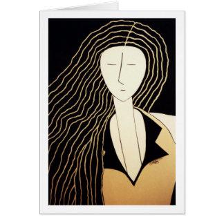 """Cartão Belas artes - """"puro & simples """""""