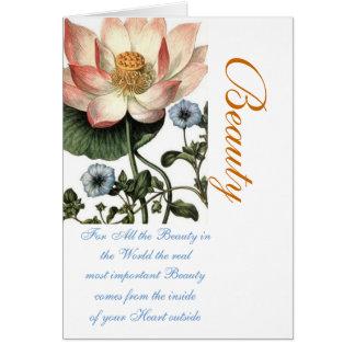 Cartão Beleza