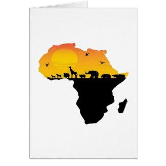 CARTÃO BELEZA DE ÁFRICA