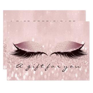 Cartão Beleza Makeup1 do chicote do ouro dos TERMAS do