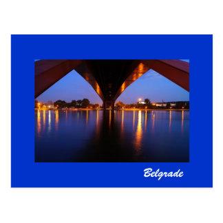 cartão Belgrado