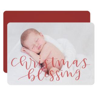 Cartão Bênção do Natal