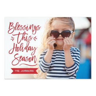 Cartão Bênçãos esta foto do Cheio do feriado