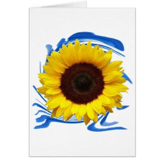 Cartão benevolência das Sun-luzes