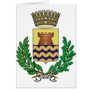 Cartão Bergeggi Stemma, Italia