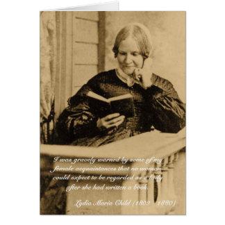 Cartão Beware, escritores das mulheres!