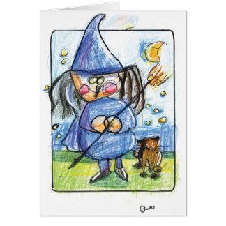 Cartão Bewitching do Dia das Bruxas