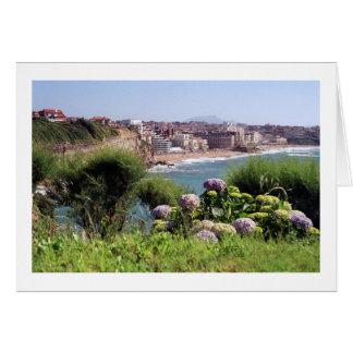 Cartão Biarritz, France